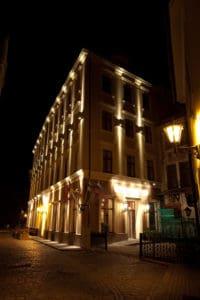 Hotel Justus - Night Facade 2